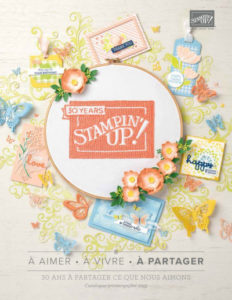 CATALOGUE PRINTEMPS-ÉTÉ STAMPIN'UP! 2019