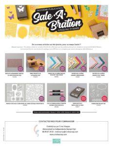 Nouveaux Cadeaux Sale-A-Bration, encore plus!