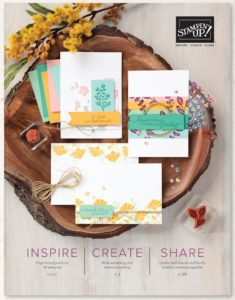 Catalogue annuel Stampin'Up! 2020 - 2021